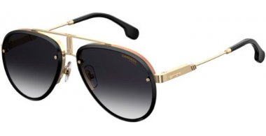 Sunglasses - Carrera - CARRERA GLORY - RHL (9O) GOLD BLACK // DARK GREY GRADIENT