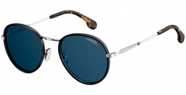 Sunglasses - Carrera - CARRERA 151/S - DOH (KU) BLACK SILVER // BLUE