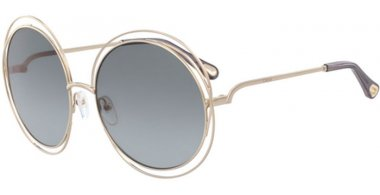 Sunglasses - Chloé - CE114SD CARLINA - 737 GOLD // GREY GRADIENT