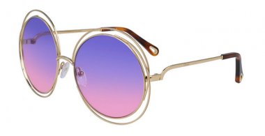 Sunglasses - Chloé - CE114SD CARLINA - 861 GOLD // VIOLET FUCHSIA GRADIENT