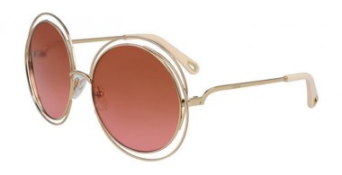 Sunglasses - Chloé - CE114SD CARLINA - 867 GOLD // BRICK ROSE GRADIENT