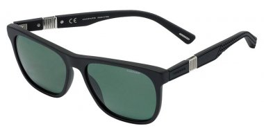 Sunglasses - Chopard - SCH236  - 703P  MATTE BLACK // GREY GREEN ANTIREFLECTION POLARIZED