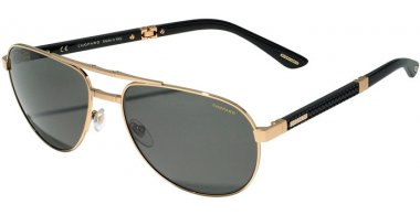 Sunglasses - Chopard - SCHB81  - 300P  SHINY ROSE GOLD // SMOKE ANTIREFLECTION POLARIZED