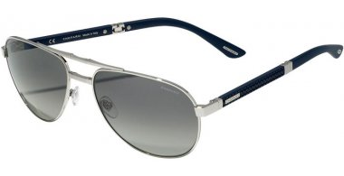 Sunglasses - Chopard - SCHB81  - 579P  SHINY PALLADIUM // SMOKE GRADIENT ANTIREFLECTION POLARIZED