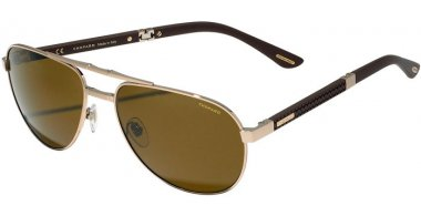 Sunglasses - Chopard - SCHB81  - A39P  SHINY GOLD // BROWN ANTIREFLECTION POLARIZED