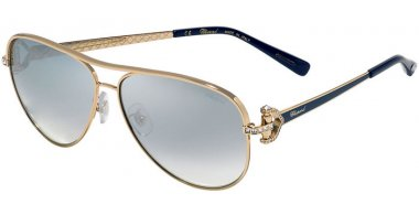 Sunglasses - Chopard - SCHC17S - 317X  SHINY ROSE GOLD // BLUE GRADIENT MIRROR SILVER ANTIREFLECTION