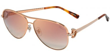 Sunglasses - Chopard - SCHC17S - 8MZG  SHINY COPPER GOLD // BROWN GRADIENT