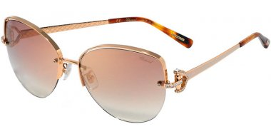 Sunglasses - Chopard - SCHC18S - 2AMG  SHINY COPPER GOLD // BROWN GRADIENT