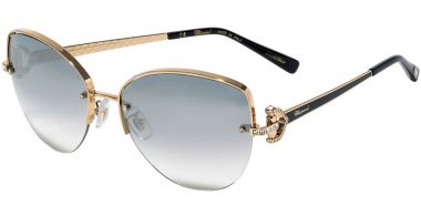 Sunglasses - Chopard - SCHC18S - 317X  SHINY ROSE GOLD // BLUE GRADIENT MIRROR SILVER ANTIREFLECTION