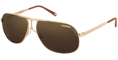 Gafas de Sol - Carrera - CARRERA 2 - 81D (EC) LIGHT GOLD METAL SHINY // BROWN