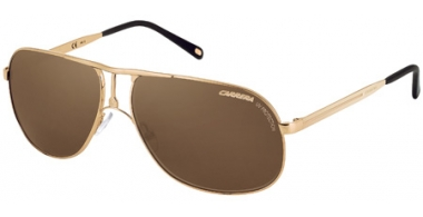 Gafas de Sol - Carrera - CARRERA 2 - 81D (SP) LIGHT GOLD METAL SHINY // BRONZE POLARIZED