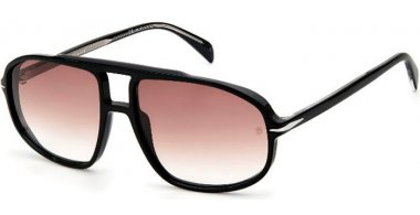 Sunglasses - David Beckam Eyewear - DB 1000/S - 807 (HA) BLACK // BROWN GRADIENT