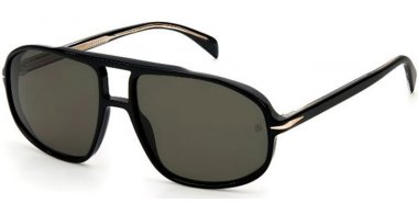 Sunglasses - David Beckam Eyewear - DB 1000/S - 807 (IR) BLACK // GREY