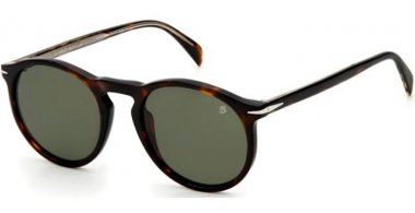 Sunglasses - David Beckam Eyewear - DB 1009/S - 086 (QT) HAVANA // GREEN