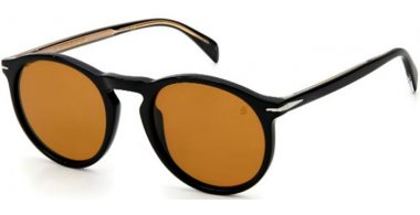 Sunglasses - David Beckam Eyewear - DB 1009/S - 807 (2M) BLACK // BROWN ANTIREFLECTION