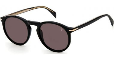 Sunglasses - David Beckam Eyewear - DB 1009/S - 807 (IR) BLACK // GREY
