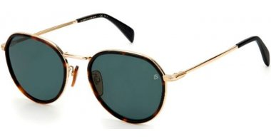 Sunglasses - David Beckam Eyewear - DB 1010/G/S - 086 (QT) HAVANA // GREEN