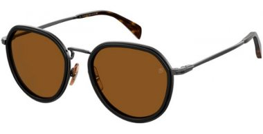 Sunglasses - David Beckam Eyewear - DB 1010/G/S - 807 (2M) BLACK // BROWN ANTIREFLECTION