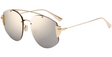 Sunglasses - Dior - DIORSTRONGER - J5G (SQ) GOLD // GOLD MULTILAYER
