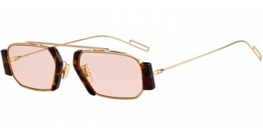 Sunglasses - Dior Homme - DIORCHROMA2 - 06J (VC) GOLD HAVANA // PINK ANTIREFLECTION