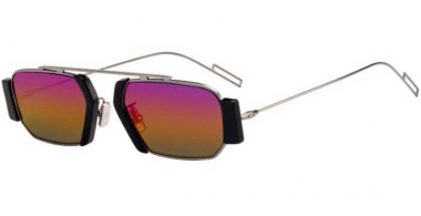 Sunglasses - Dior Homme - DIORCHROMA2 - V81 (R3) DARK RUTHENIUM // BLACK RAINBOW MULTICHROME