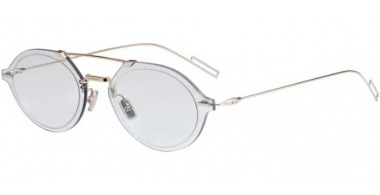 Sunglasses - Dior Homme - DIORCHROMA3 - 3YG (A9) LIGHT GOLD // BLUE GREY ANTIREFLECTION