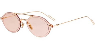 Sunglasses - Dior Homme - DIORCHROMA3 - J5G (VC) GOLD // PINK ANTIREFLECTION