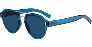 Sunglasses - Dior Homme - DIORFRACTION5 - PJP (A9) BLUE // BLUE GREY ANTIREFLECTION