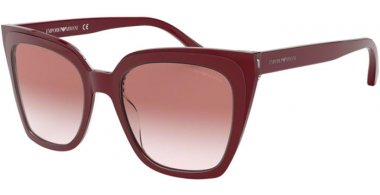 Sunglasses - Emporio Armani - EA4127 - 57448D TRILAYER CRYSTAL BORDEAUX // CLEAR GRADIENT PINK