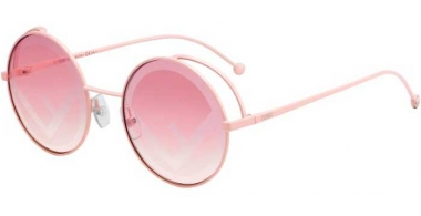 Sunglasses - Fendi - FF 0343/S - 35J (01) PINK // PINK DECORATED