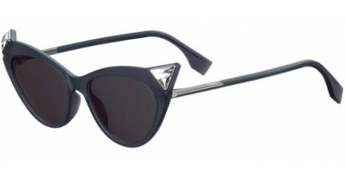 Sunglasses - Fendi - FF 0356/S - 807 (IR) BLACK // GREY
