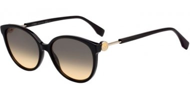 Gafas de Sol - Fendi - FF 0373/S - 807 (GA) BLACK // BROWN OCHRE GRADIENT