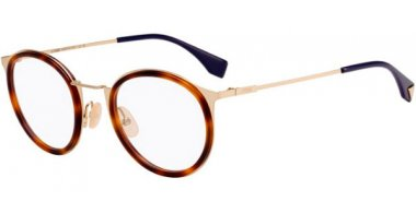Frames - Fendi - FF M0023 - J5G LIGHT HAVANA GOLD
