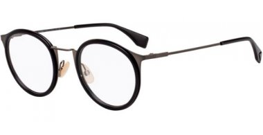 Frames - Fendi - FF M0023 - V81 BLACK DARK RUTHENIUM