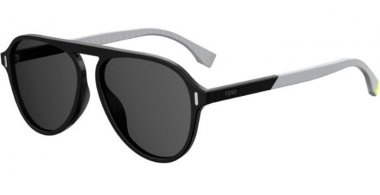 Sunglasses - Fendi - FF M0055/G/S - 807 (IR) BLACK // GREY