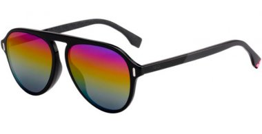 Sunglasses - Fendi - FF M0055/G/S - SDK (R3) BLACK // RAINBOW