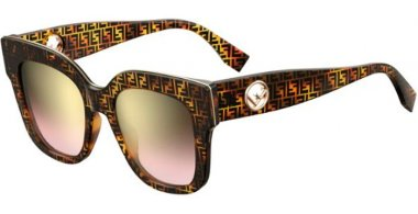 Sunglasses - Fendi - FF 0359/G/S - VH8 (M2) HAVANA // BROWN GRADIENT PINK