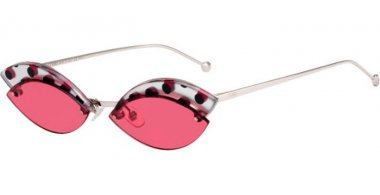 Sunglasses - Fendi - FF 0370/S - 8CQ (4S) CHERRY // BURGUNDY