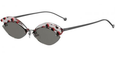 Sunglasses - Fendi - FF 0370/S - KB7 (IR) GREY // GREY