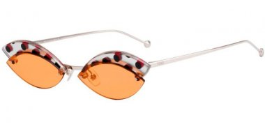 Sunglasses - Fendi - FF 0370/S - L7Q (W7) ORANGE // ORANGE