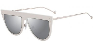 Sunglasses - Fendi - FF 0372/S - VK6 (T4) WHITE // SILVER MIRROR