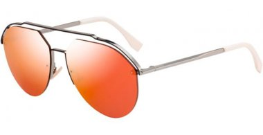 Gafas de Sol - Fendi - FF M0031/S - C9A (UW) SILVER // ORANGE MULTILAYER FLASH