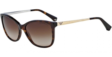 Sunglasses - Emporio Armani - EA4025 - 502613  DARK HAVANA // BROWN GRADIENT