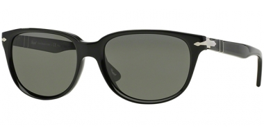 Gafas de Sol - Persol - PO3104S - 901458 BLACK // GREEN POLARIZED