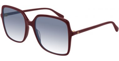 Sunglasses - Gucci - GG0544S - 003 BURGUNDY // BLUE GRADIENT