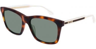 Sunglasses - Gucci - GG0558S - 003 HAVANA // GREEN