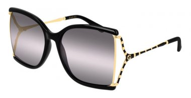 Sunglasses - Gucci - GG0592S - 002 BLACK // YELLOW