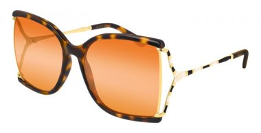 Sunglasses - Gucci - GG0592S - 003 HAVANA // ORANGE