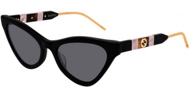 Sunglasses - Gucci - GG0597S - 001 BLACK // GREY