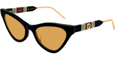 Sunglasses - Gucci - GG0597S - 004 BLACK // YELLOW